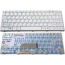 Клавиатура для ноутбука MSI X-Slim MS-1461 X300 X320 X340 X400 X460, Wind U200 U200X U210 U210X U230 U250 WHITE RU
