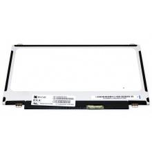 """Матрица для ноутбука 11.6"""" (1366x768) BOE-Hydis NT116WHM-N10 Slim LED TN 40pin правый Глянцевая (ушки верх/низ)"""