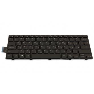 Клавиатура для ноутбука DELL Inspiron 3441 3442 3443 5442 5443 5445 5447 5448 5451 Vostro 3449 3458 3459 BLACK FRAME BLACK RU BackLight