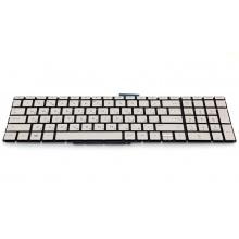 Клавиатура для ноутбука HP Pavilion 15-bs 15-bw 15-bu 15-cb 15-cd 17-bs ENVY x360 15-bq 250 G6 255 G6 256 G6 258 G6 15-ra 15-rb SILVER RU BackLight