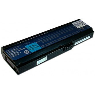 Батарея для ноутбука ACER Aspire 3000 3200 3600 5050 5500 5550 5570 5580, Extensa 4010 4210, TravelMate 2400 3000 3210 / 11.1V 4800mAh (53Wh) BLACK ORG (50L6C48)