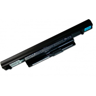 Батарея для ноутбука ACER Aspire 3820T 4553 4820 5553 5745 5820T 7745, TravelMate 6594 / Packard Bell LX86 / 11.1V 6000mAh (66Wh) BLACK ORG (AS10B6E)