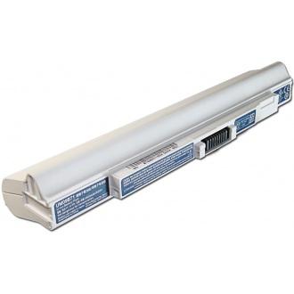 Батарея для ноутбука ACER Aspire One 531 751 SP1 ZA3 ZG8 ZGE / Gateway LT30 LT31 / 11.1V 4400mAh (46Wh) WHITE ORIG (Model: UM09B71)