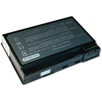 Батарея для ноутбука ACER Aspire 3020 3610 5020, TravelMate 2410 4400 C300 / 14.8V 5200mAh (77Wh) BLACK OEM (BTP-63D1)