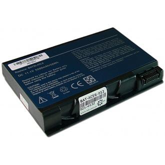 Батарея для ноутбука ACER Aspire 3100 3692 3693 5100 5610 5630 5680, TravelMate 2490 2492 3900 4230 4260 / 11.1V 5200mAh (58Wh) BLACK OEM (BATCL50L6)