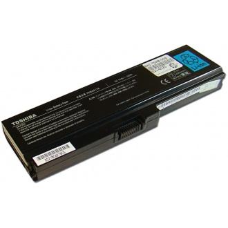 Батарея для ноутбука TOSHIBA Satellite A665 C650 L655 L750 P750 / 10.8V 4800mAh (52Wh) BLACK ORG (PA3817U-1BRS)