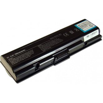 Батарея для ноутбука TOSHIBA Satellite A200 A300 A500 L200 L300 L500 M200 / 11.1V 7800mAh (84Wh) BLACK OEM (PA3534U-1BRS)