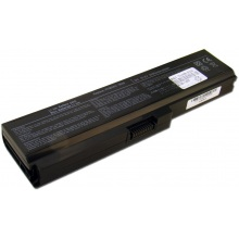 Батарея для ноутбука TOSHIBA Satellite A665 C650 L655 L750 P750 / 10.8V 5200mAh (56Wh) BLACK OEM (PA3817U-1BRS)