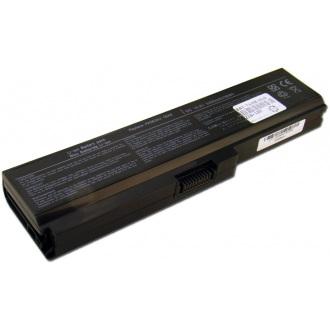 Батарея для ноутбука TOSHIBA Satellite A665 C650 L655 L750 P750 / 11.1V 5200mAh (56Wh) BLACK OEM (PA3817U-1BRS)