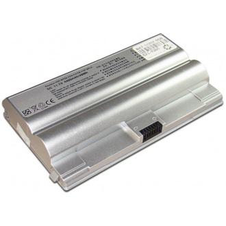 Батарея для ноутбука SONY VGN-FZ / 11.1V 4400mAh (49Wh) SILVER OEM (BPS8B)