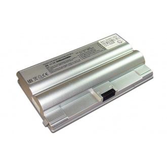 Батарея для ноутбука SONY VGN-FZ / 11.1V 5200mAh (58Wh) SILVER OEM (BPS8B)