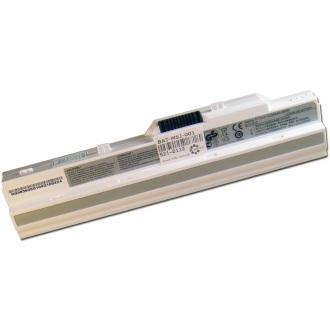 Батарея для ноутбука MSI U90 U100 U110 U115 U120 U123 U130 U150 U200 U210 U230 / 11.1V 5200mAh (58Wh) WHITE ORIG (BTY-S12)