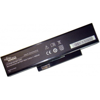 Батарея для ноутбука FUJITSU Amilo LA1703 V5515 V5535 V5555, Esprimo Mobile V5515 V5535 V5555 V6515 V6555 / 10.8V 4400mAh (49Wh) BLACK ORIG (SDI-HFS-SS-22F-06)