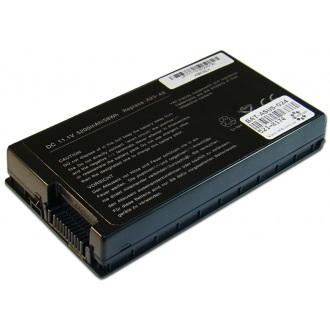 Батарея для ноутбука ASUS A8 A8000 F50 F80 F81 F83 F8P F8S F8V L80 N80 N81 X61 X80 X81 X82 X83 X85 Z99 / 11.1V 5200mAh (58Wh) BLACK OEM (A32-A8)