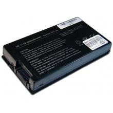 Батарея для ноутбука ASUS A8 A8000 F50 F80 F81 F83 F8P F8S F8V L80 N80 N81 X61 X80 X81 X82 X83 X85 Z99 / 11.1V 4400mAh (49Wh) BLACK OEM (A32-A8)