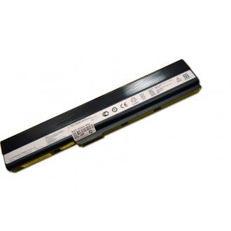 Батарея для ноутбука ASUS A40 A42 A52 A62 B1A B23E B33E B50A B51E B53 F85 F86 K42 K52 K62 N82 P42 P52 P62 P82 X42 X52 X5I X5K X5L X5M X5P X5Q X5R X8C / 10.8V 5200mAh (58Wh) BLACK OEM (A32-K52)
